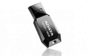 Adata DashDrive UV100 16GB USB2.0 czarny - mini