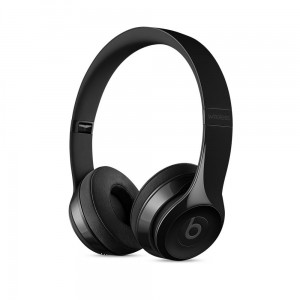 Apple Beats Solo3 Wireless On- Headphones - Gloss Black