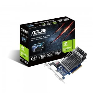 Asus Karta graficzna GeForce GT 710 2GB DDR3 64BIT DVI-D/HDMI