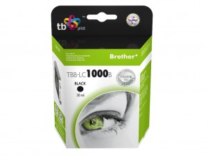 TB Print Tusz do Brother LC1000BK TBB-LC1000B BK 100% nowy