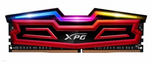 Adata Pamięć XPG D40 DDR4 2666 DIMM 16GB CL16 Single RGB
