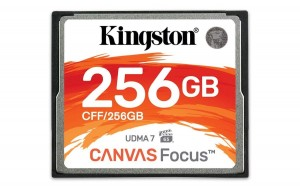 Kingston Karta pamięci CompactFlash Canvas Focus 256GB 150R/130W UDMA7 VPG-65