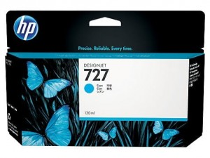 HP Inc. Tusz HP 727 130 ml Cyan B3P19A