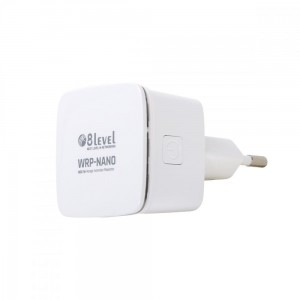 8level Repeater WRP-NANO WiFi 300Mbps (802.11n 1xLAN)