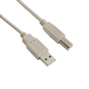 4world Kabel USB 2.0 A-B M/M 1.8m szary