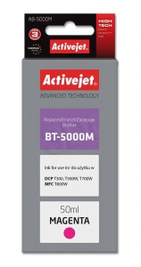 Tusz ActiveJet  AB-5000M Magenta do drukarki Brother - zamiennik BT5000M