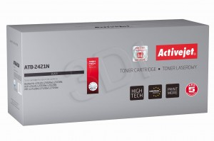 Toner ActiveJet ATB-2421N czarny do drukarki Brother - zamiennik TN2421