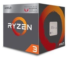 AMD Procesor Ryzen 5 3400G 3,7GH AM4 YD3400C5FHBOX