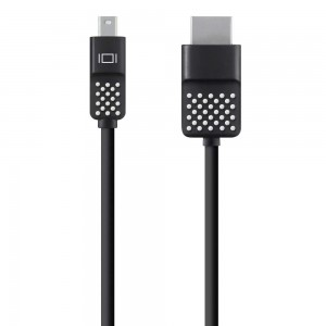 Belkin Kabel Mini DisplayPort do HDMI 4K 1,8m czarny