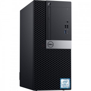 Dell Komputer Optiplex 7070 MT W10Pro i7-9700/16GB/512GB SSD/Intel UHD 630/DVD RW/KB216 & MS116/3Y BWOS