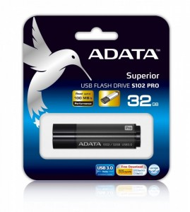 Adata DashDrive Elite S102 Pro 32GB USB3.0 szary