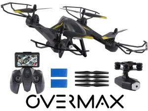 OVERMAX DRON X-BEE 5.5 FPV, 2MPX,2BATERIE