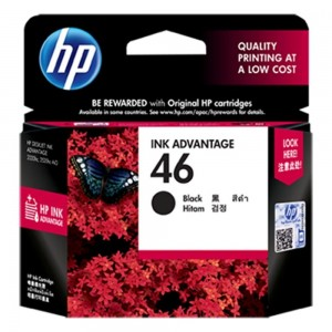 HP Inc. No 46 Black CZ637AE