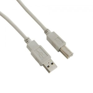 4world Kabel USB 2.0 typ A-B M/M 5m szary