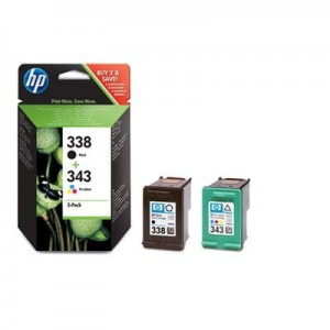 HP Inc. Combo Pack Tusz 338 + 343 SD449EE