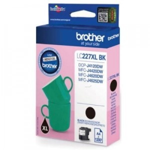 Brother Tusz LC-227XLBK Black 1,2k MFC-J4420DW/4620DW