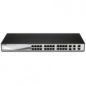 D-Link DES-1210-28P Switch 24x10/100 2x1GBE 2xCOMBO