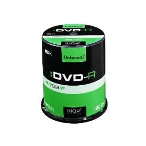 Intenso DVD-R 16x 4,7GB (100 Cake)