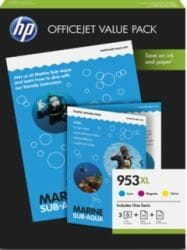 HP Inc. 953XL 3-pack CMY 1CC21AE