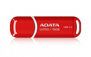 Adata Pendrive DashDrive Value UV150 16GB USB 3.2 Gen1 czerwony