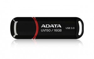 Adata Pendrive DashDrive Value UV150 16GB USB 3.2 Gen1 czarny
