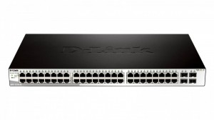 D-Link DGS-1210-52 48x 10/100/1000, 4x SFP Smart Switch