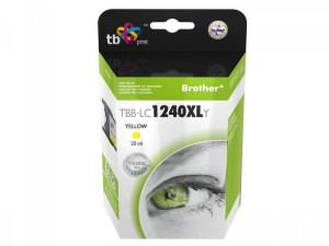 TB Print Tusz do Brother LC1240XL TBB-LC1240XLY YE