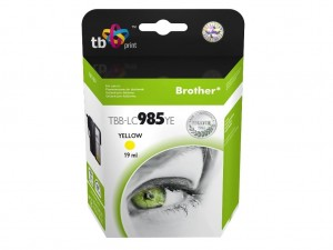 TB Print Tusz do Brother LC 985 TBB-LC985YE YE