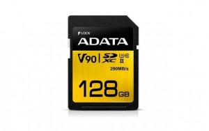 Adata SD Premier ONE 128G UHS 2/U3/CL10 290/260MB/s