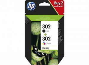 HP Inc. Combo Pack Ink 302BK+CL X4D37AE
