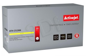 Toner ActiveJet ATH-252AN Yellow do drukarki HP - zamiennik 504A CE252A