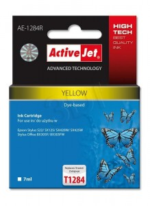 Tusz ActiveJet AE-1284R Yellow do drukarki Epson T1284