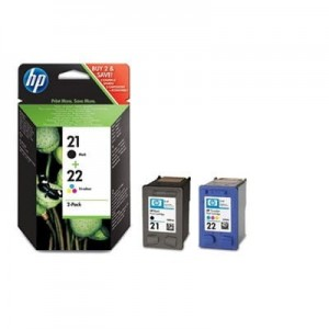 HP Inc. Combo Pack Tusz 21 + 22 SD367AE