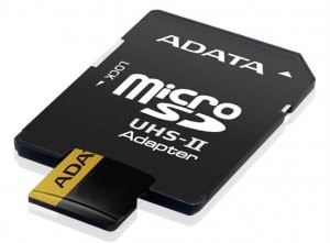 Adata microSD Premier ONE 128 UHS2/U3/CL10 + adapter