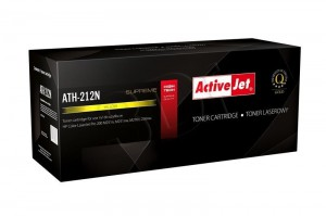 Toner ActiveJet ATH-212N Yellow do drukarki HP - zamiennik CF212A